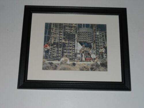 """Framed Grateful Dead Color """"Wall of Sound"""" 1974 Tour Poster, 14"""" x 17"""" J Garcia"""