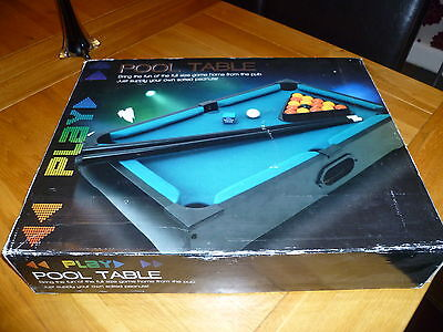 Pre Owned BHS Table Top Pool Table Good Condition Collection Only Game Sports
