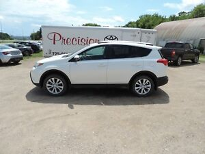 2013 Toyota RAV4 Limited Leather,Heated Seats,Bluetooth, Sunr...