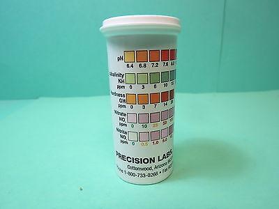 50 Teststreifen für Wassertest 5 i n1 Qualitättest Teich,Aquarium usw.  33596