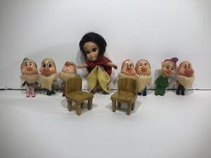 Vintage Disney 1960s Hasbro Snow White Liddle Kiddles