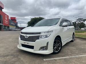 2012 Nissan Elgrand HighWay Star TE52 7 Seater Dual SunRoof Wagon Thomastown Whittlesea Area Preview
