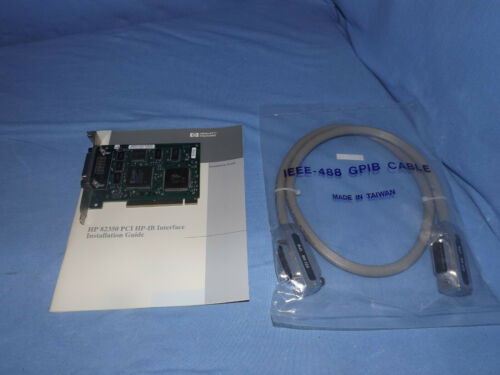 HP E2078A 82350A GPIB PCI HP-IB Rev B Interface (A0424)