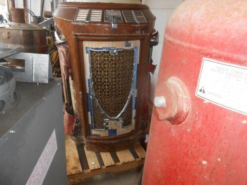 VINTAGE USED SEEBURG SYMPHONOLA MODEL 147M  SER 135721 78 RPM UNRESTORED