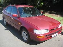 1996 Toyota Corolla Hatchback Wollstonecraft North Sydney Area Preview