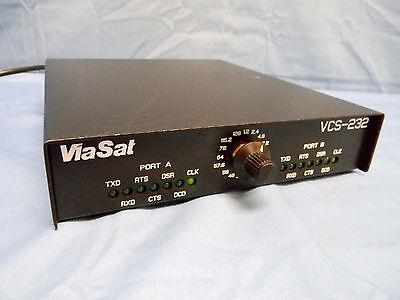 Viasat Vcs 232 Two Port 25 Pin D Sub Male 4 Position Channel Simulator