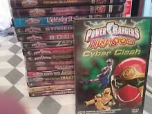 Power Rangers DVDs ... Kingsford Eastern Suburbs Preview