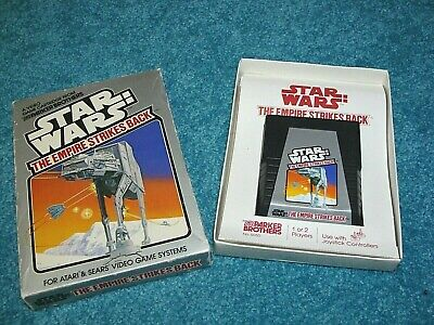 STAR WARS The Empire Strikes Back Atari 2600 Game  W/ Original Box, Working !!!!