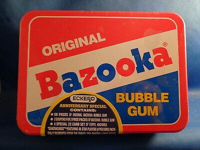 1991 BAZOOKA BASEBALL - TOPPS ARCHIVES (22) CARD SET - SEALED TIN ! LQQK -