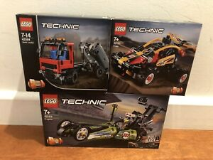Lego Technic – Various Sets - Brand new. From $9