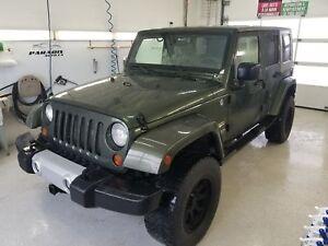 2008 Jeep Wrangler Unlimited Sahara 2 TOITS