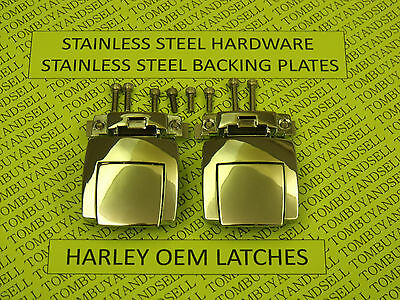 OEM for HARLEY DAVIDSON TOUR PACK LATCHES CLASSIC ELECTRA GLIDE ULTRA PAK PAC HD, used for sale  Pinellas Park
