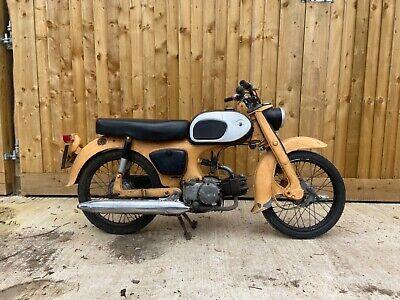 Honda C200 C90 classic, running project. Rare. Scooter. 1965 retro
