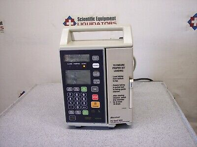 Baxter Flo-gard 6201 Volumetric Infusion Pump With New Battery