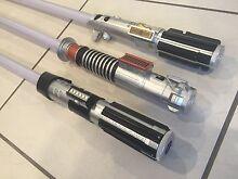 Used Kids Jedi Starwars Lightsaber - Sounds + Light - Costume Herston Brisbane North East Preview