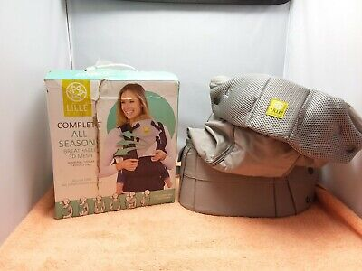 LILLE BABY 6in1 Positions Complete All Seasons Breathable 3D Mesh Baby Carrier