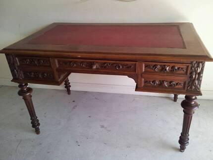 Antique French Desk Blackburn Whitehorse Area Preview