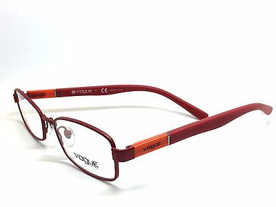 New Authentic Vogue Eyeglasses Red Junior VO 3926 957-s 48mm
