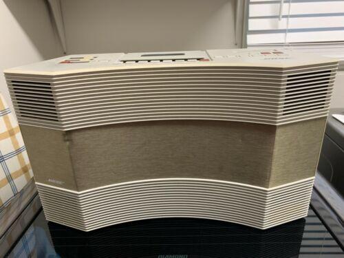 Bose AW-1 Acoustic Wave Music System AM/FM Cassette No Remote