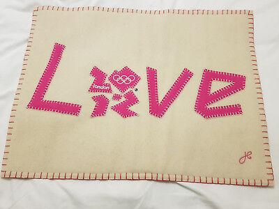 BNWT Jan Constantine LOVE cushion cover (no pad)