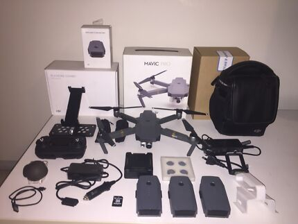 Dji mavic pro fly more combo plus many extras