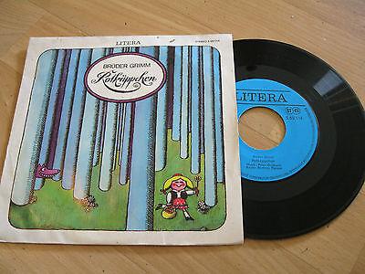 """7"""" Single Rotkäppchen Brüder Grimm Märchen  Vinyl LITERA DDR 565114"""