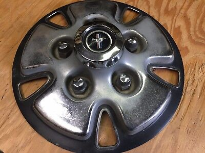 """1970 1971 FORD MUSTANG MACH 1 """"MAG WHEEL"""" CENTER CAP USED OEM"""