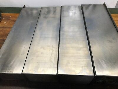 91 Haas Vf1 Cnc Texaflex Way Cover Y Axis Front And Rear.