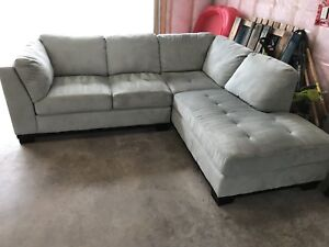 Sectional Sofa With Chaise And Back Rest