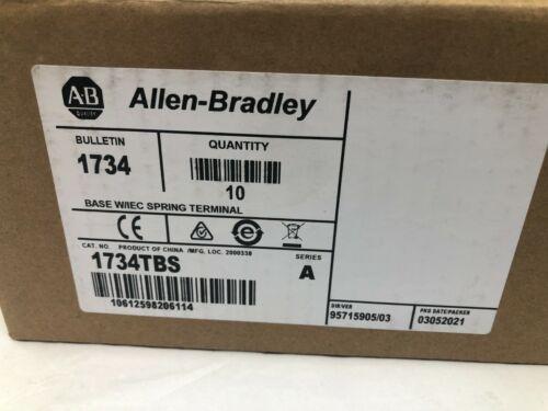 Allen-Bradley 1734TBS Point I/0 Wiring Base Assembly