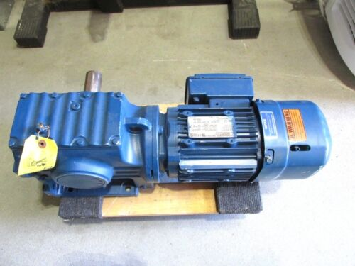 NEW... SEW Eurodrive .75Hp Gear Reducer Motor Model: S67DRE80M4BE1HF .. VB-001
