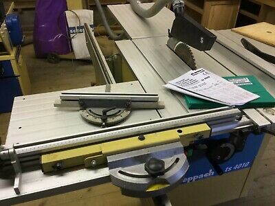 Scheppach ts 4010 table saw, very good condition