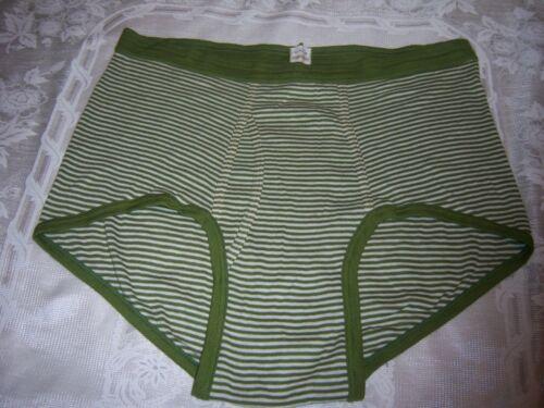 Vintage 70s 80s Diener Striped Briefs Underwear USA Mens XL 42-44 Fingerhut