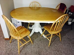 Solid wood dining table ser