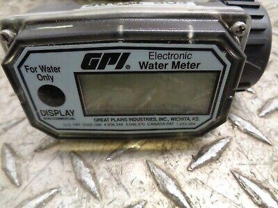 Gpi Water Meter 01n31lm