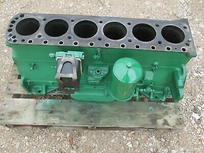 Oliver Tractor 1750175518551950t1955 Engine Cooler Block Very Nice