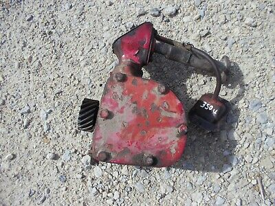 International 350 Utility Tractor Ih Engine Motor Governor Assembly Case Tube