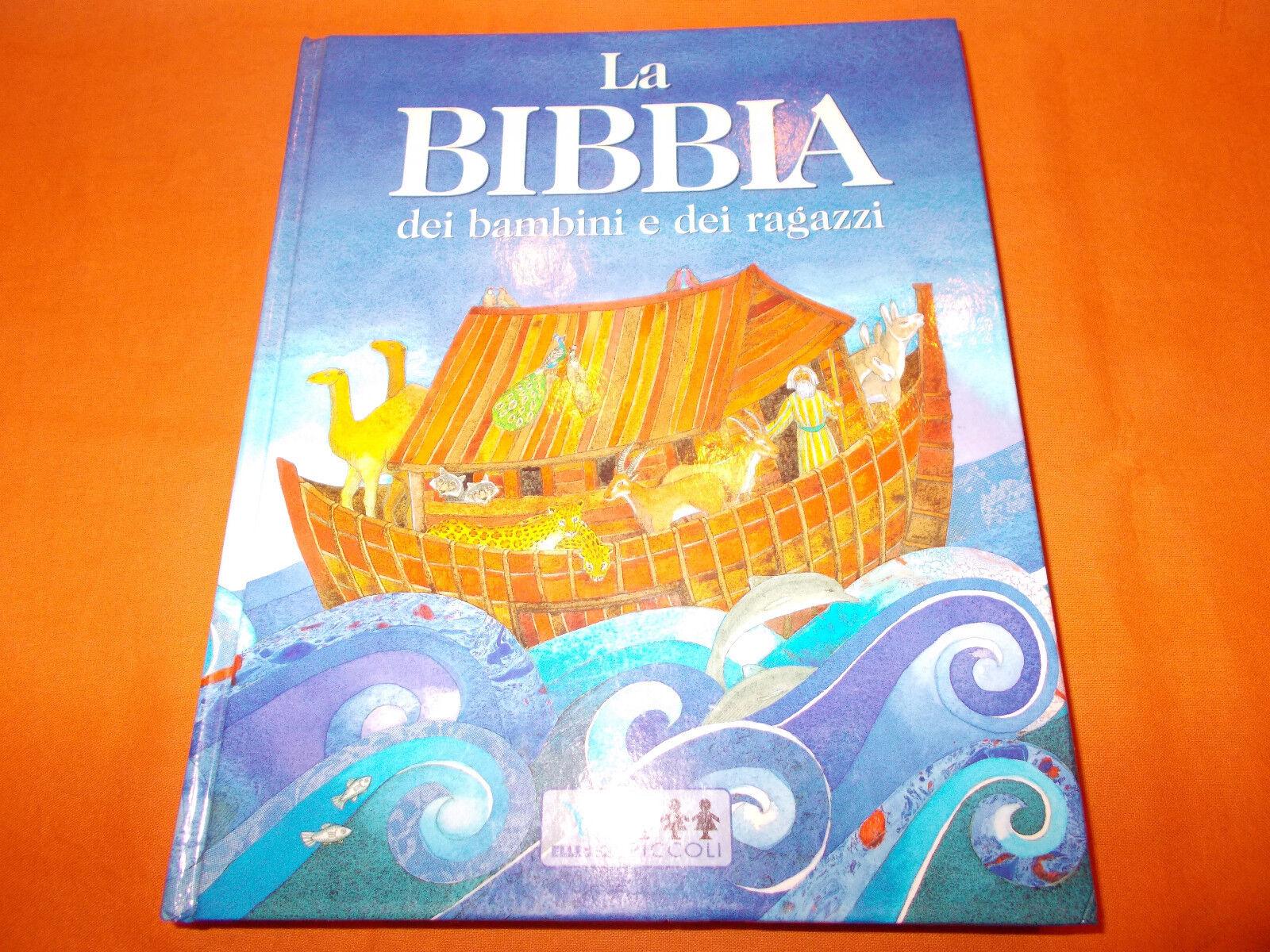 la bibbia dei bambini e dei ragazzi elledici piccoli 2003 a colori