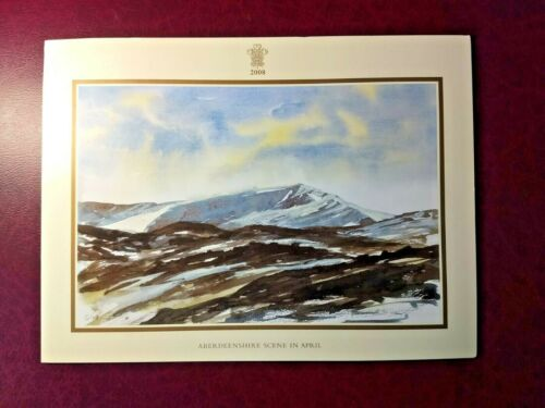 2008 Christmas card signed by Prince Charles