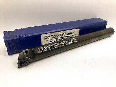 Ultra-dex A12r Mwlnr3 Boring Bar Holder 1pc New
