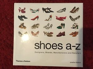SHOES A-Z Hardcover Book