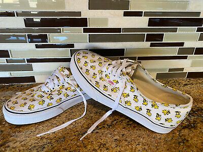 Vans Off The Wall Canvas Peanuts Tweety Bird Shoes Men's 7.5 / Women's 9