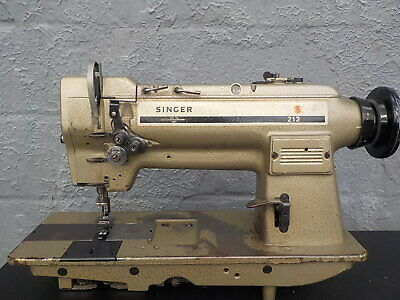 Industrial Sewing Machine Singer 212-141 With Reverse Two Needle -leather