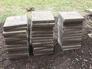 Concrete Pavers 300x300x40mm - Beige/Grey x 40 Pokolbin Cessnock Area Preview