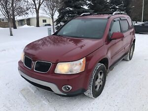 2006 Pontiac Torrent, AWD, Only 68,000KM, New Tires,Runs Awesome