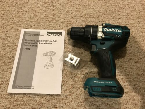 "Makita XPH12Z 18V Brushless 1/2"" Hammer Driver Drill Bare To"