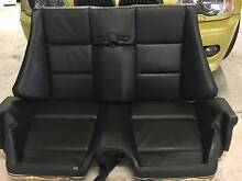 BMW M3 E46 Convertible 2004 - Complete Rear Seat. Black Leather Newport Pittwater Area Preview