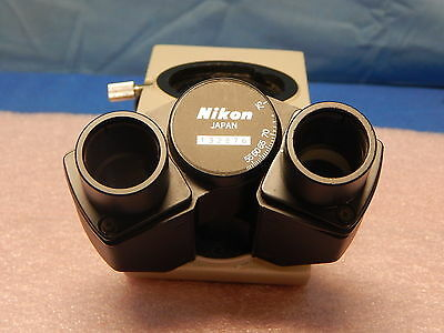 Nikon Binoculartrinocular Microscope Teaching Head