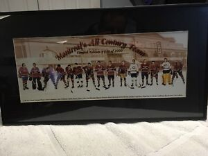 Montreal Canadiens limited ed 809 of 2000 print