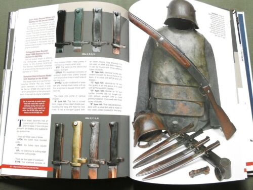 """BAYONETS OF THE FIRST WORLD WAR"" GERMAN FRENCH BRITISH US WW1 REFERENCE BOOK"